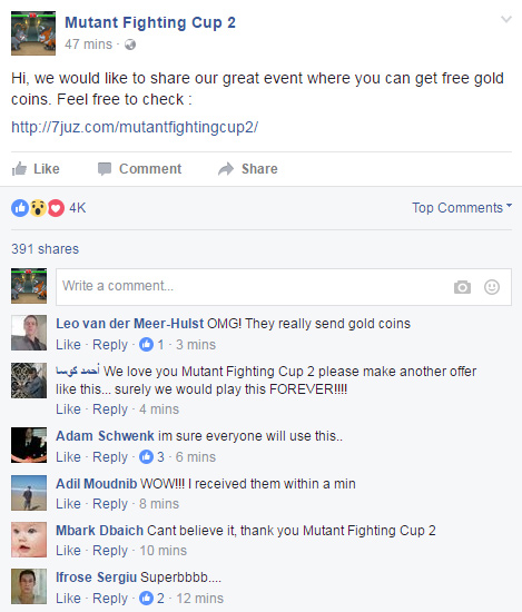 mutant fighting cup 2 hack gold coins