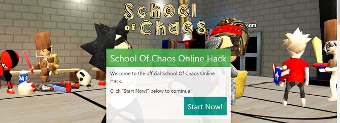 school of chaos hack
