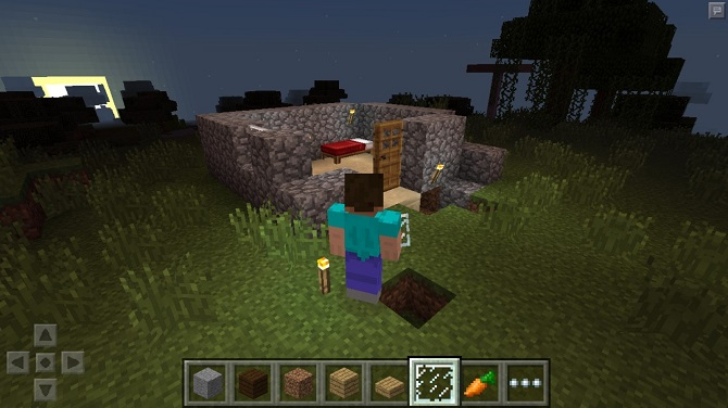 minecraft pocket edition gameplay